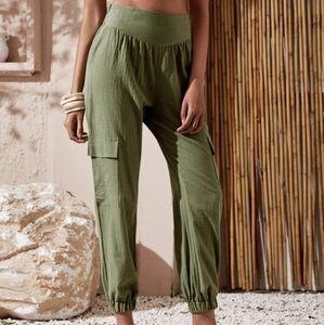 Flap pocket cargo pants